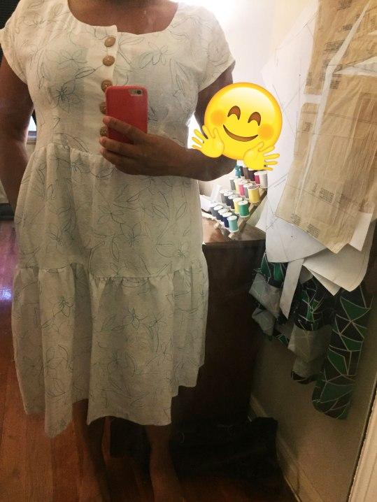 Sew Over Doris Dress Hack